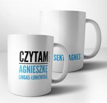 Kubek Czytam Agnieszkę Lingas-Łoniewską