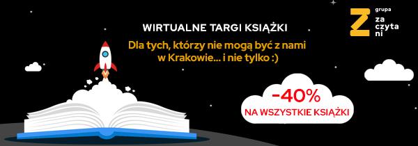Promocja -40% na wszystkie książki z okazji Targów Książki w Krakowie