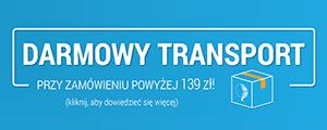 Darmowy transport przy zamówieniu powyżej 139 zł!